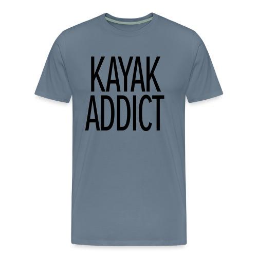 Kayak addict sweat-shirt Contraste - T-shirt Premium Homme