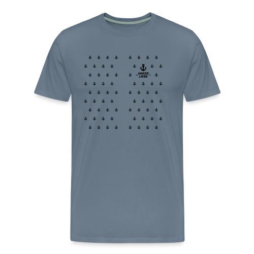 ANKERLIEBE / Zipperjacke (Girls) - Männer Premium T-Shirt