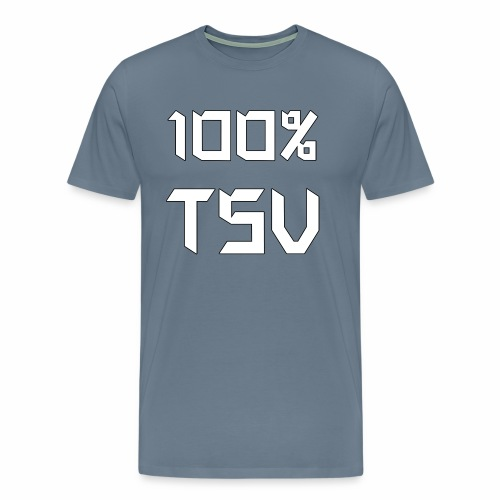 100 TSV png - Männer Premium T-Shirt