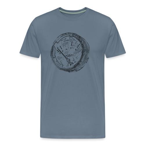 Vintage Manometer - Männer Premium T-Shirt