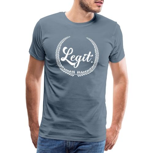 legit white - Mannen Premium T-shirt