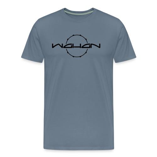 wahan logo hoop small - Männer Premium T-Shirt