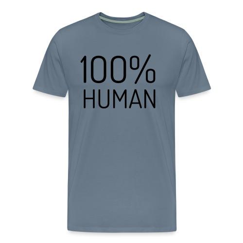 100% Human - Mannen Premium T-shirt