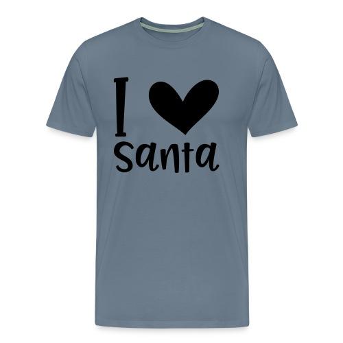 I love Santa - Männer Premium T-Shirt