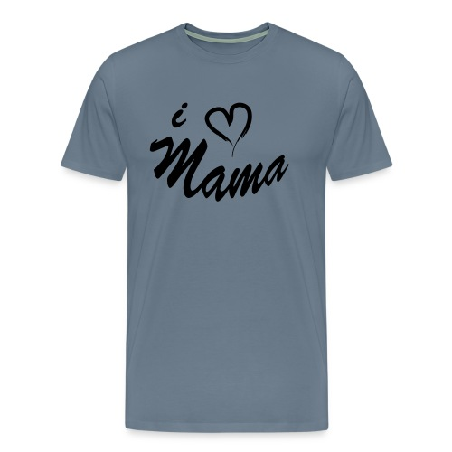 i love mama KIDS shirt - Mannen Premium T-shirt