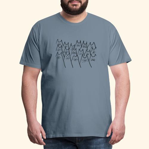 caaats - Männer Premium T-Shirt