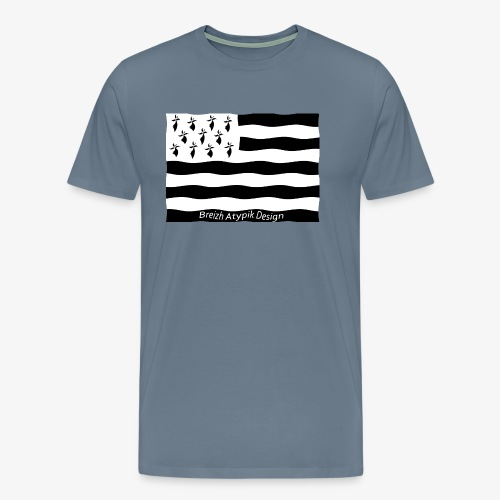 Gwenn ha Du B W - T-shirt Premium Homme
