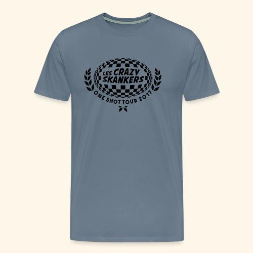 CRAZY - T-shirt Premium Homme