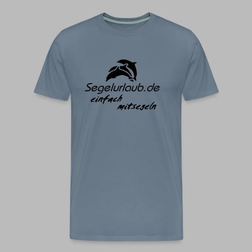 einfach mitsegeln io - Männer Premium T-Shirt