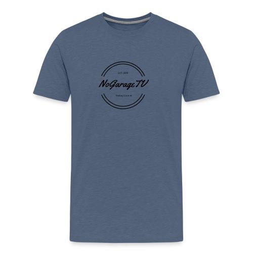 NoGarageTV (3) - Herre premium T-shirt