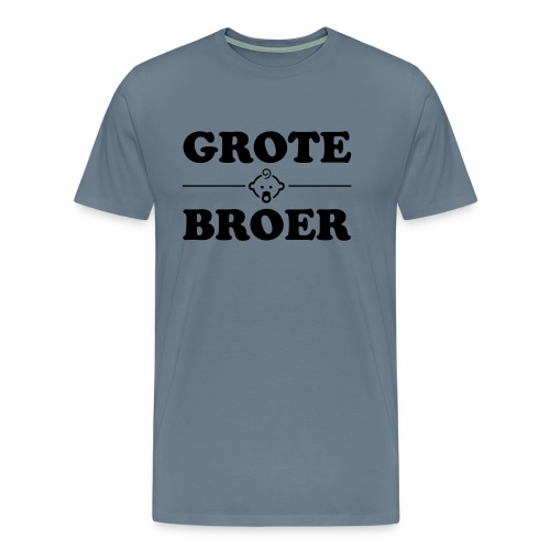 Grote Broer - Mannen Premium T-shirt
