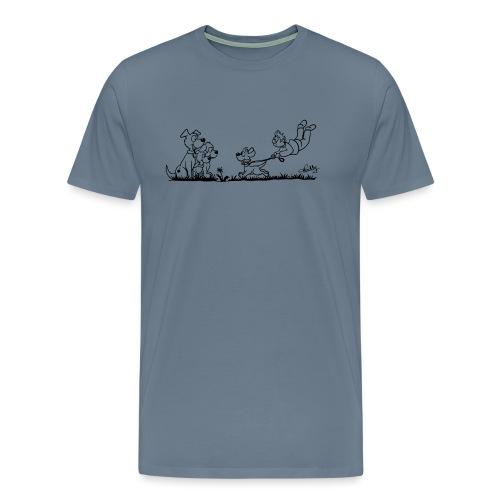 Gassigehen - Männer Premium T-Shirt