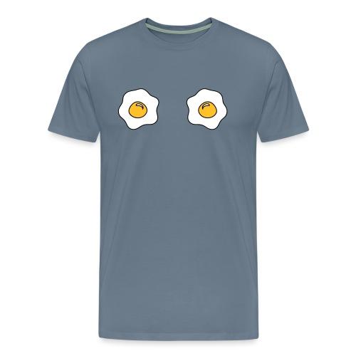 Oeufs au plat - T-shirt Premium Homme