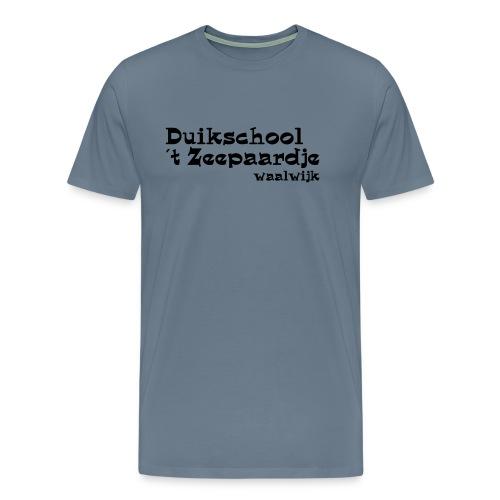 tekst onder elkaar - Mannen Premium T-shirt