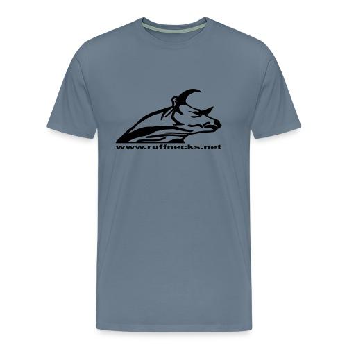 logo ruff web neu - Männer Premium T-Shirt