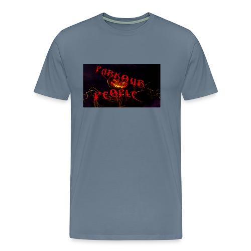 Parkour people spooky clothing - Men's Premium T-Shirt