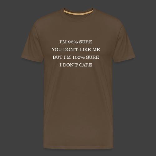 96% - Men's Premium T-Shirt