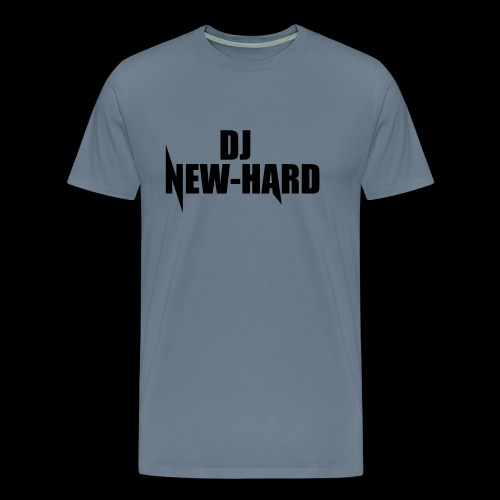 DJ NEW-HARD LOGO - Mannen Premium T-shirt