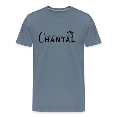 Logo Chantal xtra zwart png - Mannen Premium T-shirt