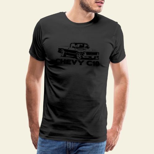 c10 small - Herre premium T-shirt