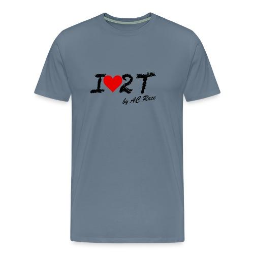 Ilove2t - Camiseta premium hombre