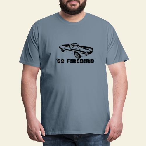 firebird small - Herre premium T-shirt