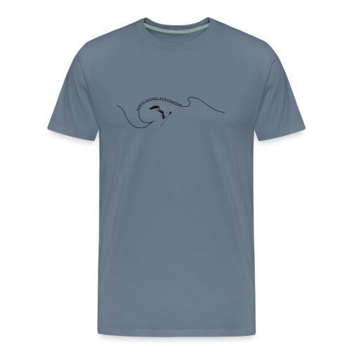 wavesup - Männer Premium T-Shirt
