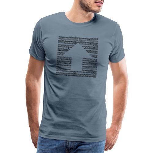 BACH UP - Camiseta premium hombre