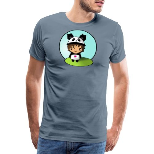 Panda killen - Premium-T-shirt herr