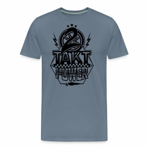 2-Takt-Power / Zweitakt Power - Men's Premium T-Shirt