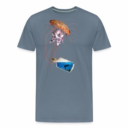 Woman in a bottle - Männer Premium T-Shirt