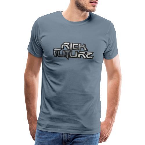 RickFutureLogo 2014 cold - Männer Premium T-Shirt