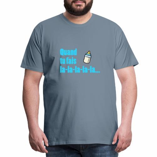 ...Pense aux conséquences ! - T-shirt Premium Homme