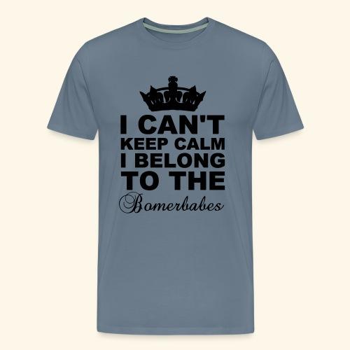 Can t keep calm - Men's Premium T-Shirt