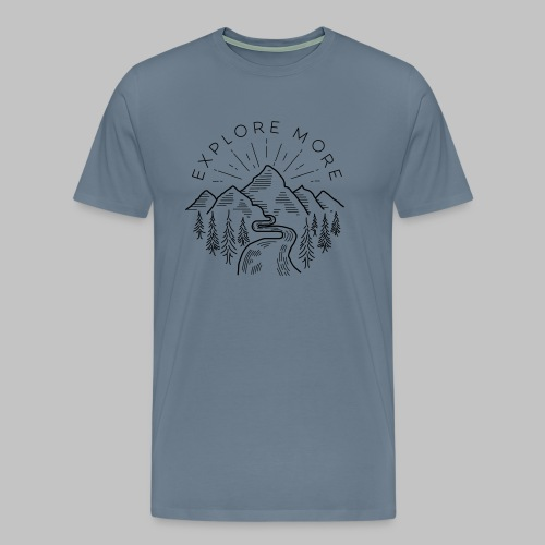 Explore more - Men's Premium T-Shirt