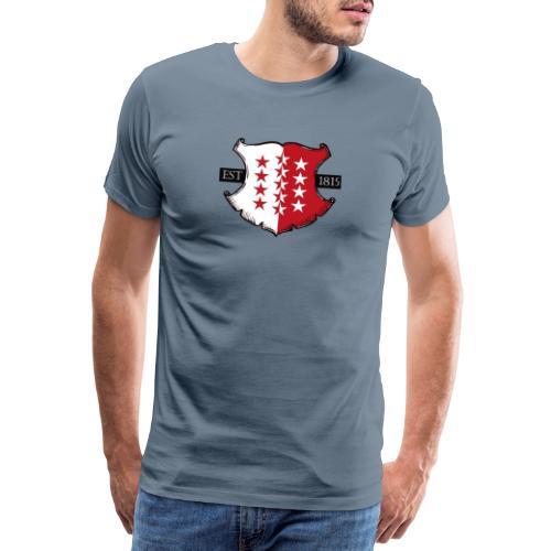 Valais est. 1815 - Männer Premium T-Shirt