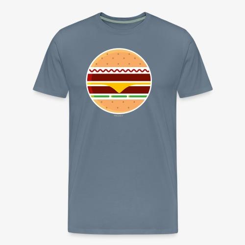 Circle Burger - Maglietta Premium da uomo
