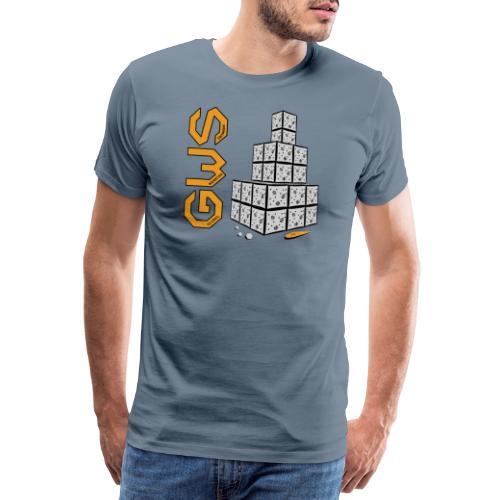 Bonhomme de neige moderne - T-shirt Premium Homme