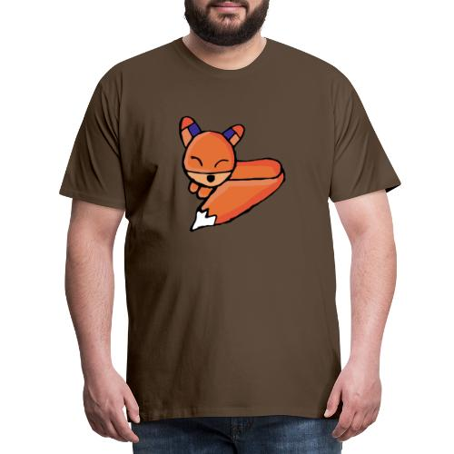 Edo le renard - T-shirt Premium Homme