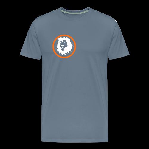 Absogames white lion unisex hoodie - Men's Premium T-Shirt