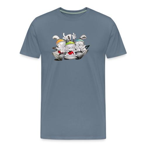 see no evil ! Tim Timmey - Herre premium T-shirt