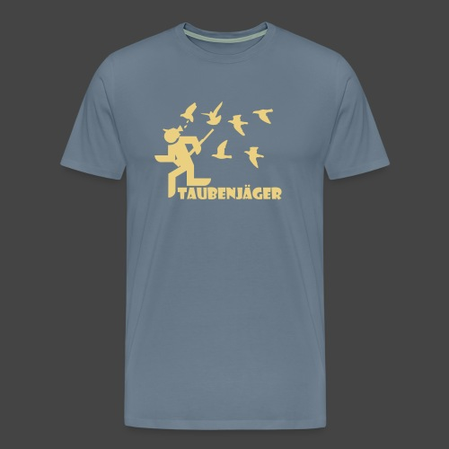 Der Taubenjäger - Männer Premium T-Shirt