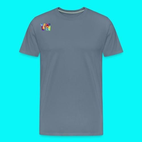 Velocity Networks Coloured Logo! - Men's Premium T-Shirt