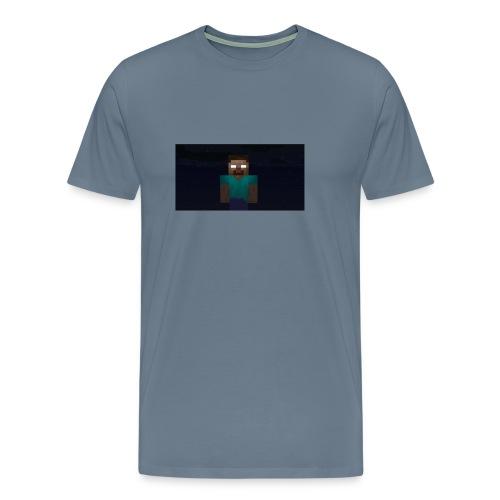 Herobrine (Bild) - Männer Premium T-Shirt