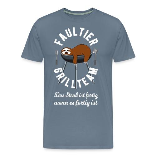 Faultier Grillteam - Männer Premium T-Shirt