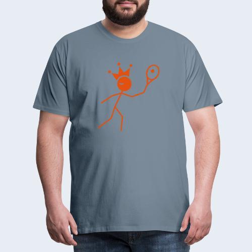 Tenniskoning - Mannen Premium T-shirt