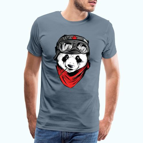 Panda pilot - Men's Premium T-Shirt