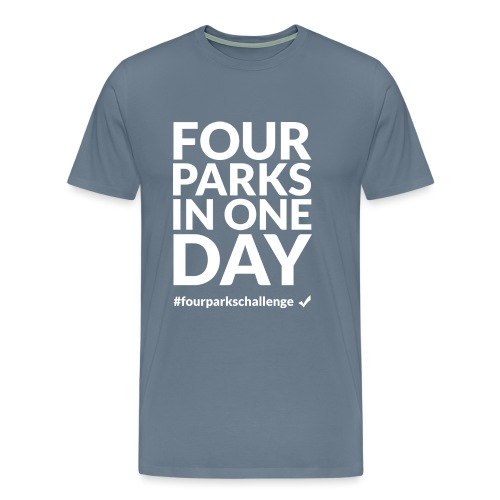 Four parks in one day challenge (light) - Men's Premium T-Shirt