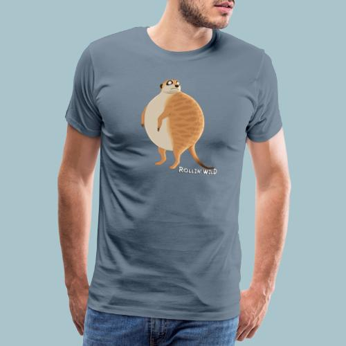 Rollin' Wild - Meerkat - Men's Premium T-Shirt