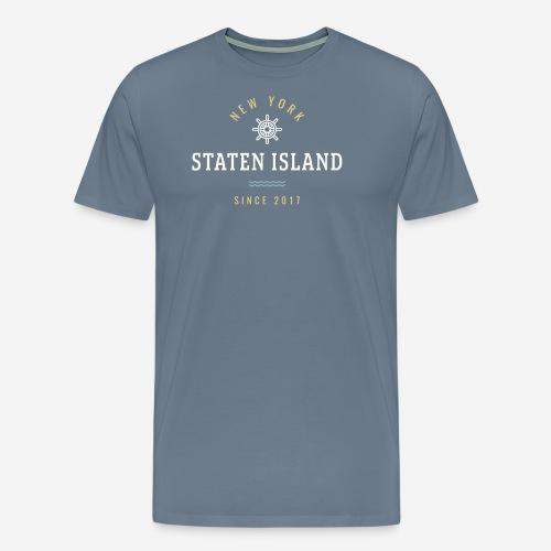 NWE YORK - STATEN ISLAND - Maglietta Premium da uomo